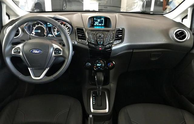 Ford Fiesta Titanium 1.6 . Prata. 2013/2014 - Foto 10