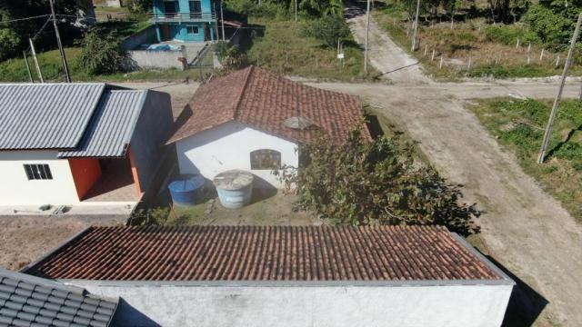 Boa casa de alvenaria em itapoá, aproximadamente 1.100 metros da praia, total de 108 m2 co - Foto 9