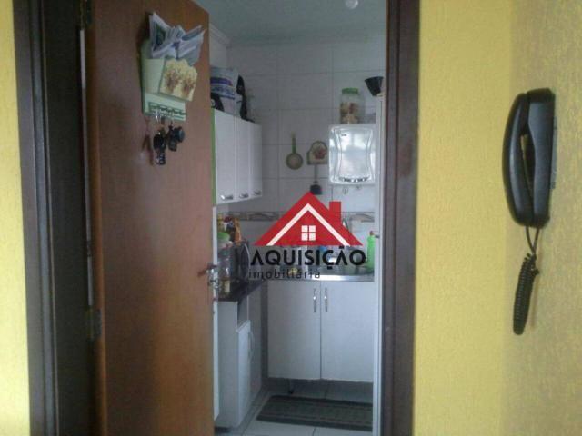 Apartamento com 3 dormitórios à venda, 54 m² por r$ 210.000,00 - capão raso - curitiba/pr - Foto 6
