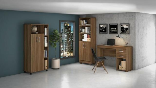 Escritório Completo Office Iara - Entrega Grátis - Foto 2