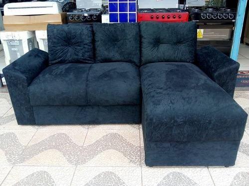 Peça ja e Receba No Mesmo Dia!! Lindo Sofa Chaise Com Almofadas Novo 599,00