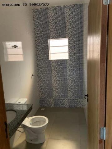 Casa para Venda em Várzea Grande, Nova Fronteira, 2 dormitórios, 1 banheiro, 2 vagas - Foto 14