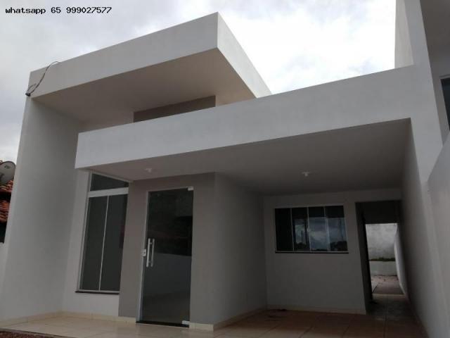 Casa para Venda em Várzea Grande, MANGA, 2 dormitórios, 1 suíte, 2 banheiros, 2 vagas - Foto 17
