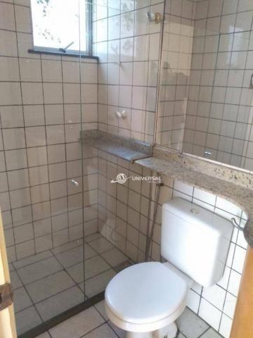 Apartamento com 2 dormitórios para alugar, 55 m² por r$ 700/mês - bandeirantes - juiz de f - Foto 9