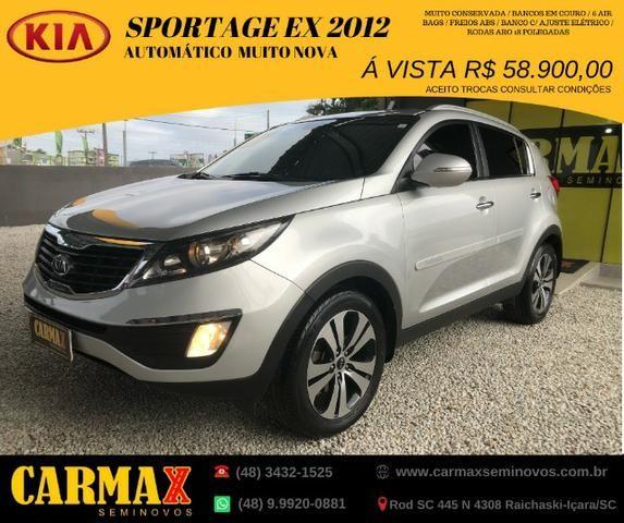 Sportage EX Automatica 2012 Segundo Dono 100% revisada e Muito Novinha