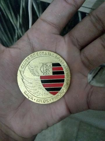 9cfa15982f Medalha histórica de 120 anos do clube de regatas do Flamengo ...