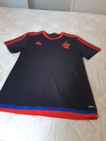 Camisa de Treino Adidas Flamengo Tam. M - Roupas e calçados - Vila ... ced54dbf607d6
