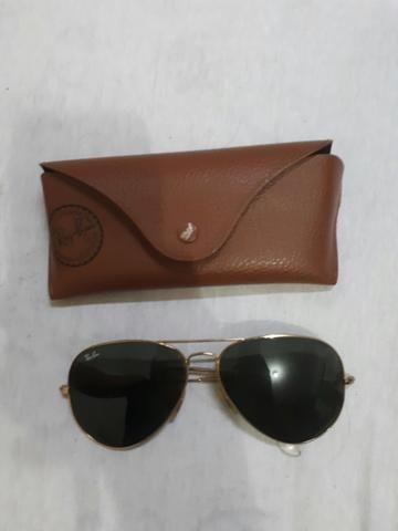 Óculos Ray Ban Aviador ORIGINAL - Bijouterias, relógios e acessórios ... f2eb7bd0f5