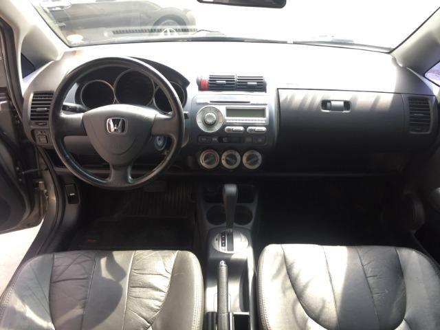 """""""IPVA 2020 Grátis"""" Honda Fit EX Automático 1.5 16V 4P Top de Linha - Foto 8"""