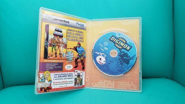 Box De Dvds Digimon Volume 1. Usado. Em Perfeito Estado! - Foto 6