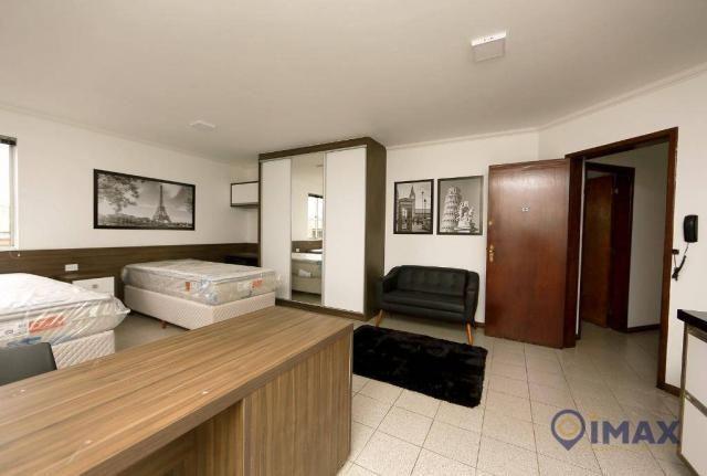 Apartamento com 1 dormitório para alugar, 45 m² por R$ 1.500,00/mês - Centro - Foz do Igua - Foto 15