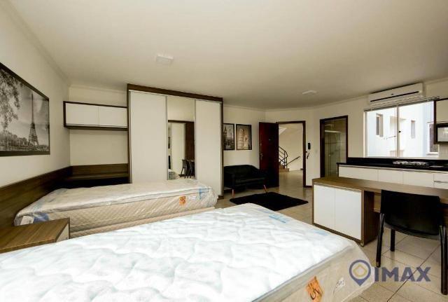 Apartamento com 1 dormitório para alugar, 45 m² por R$ 1.500,00/mês - Centro - Foz do Igua - Foto 10