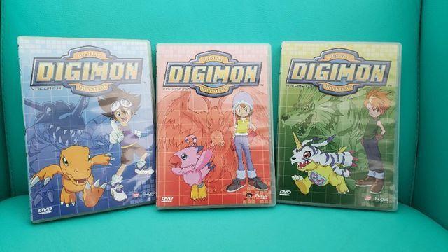 Box De Dvds Digimon Volume 1. Usado. Em Perfeito Estado! - Foto 2