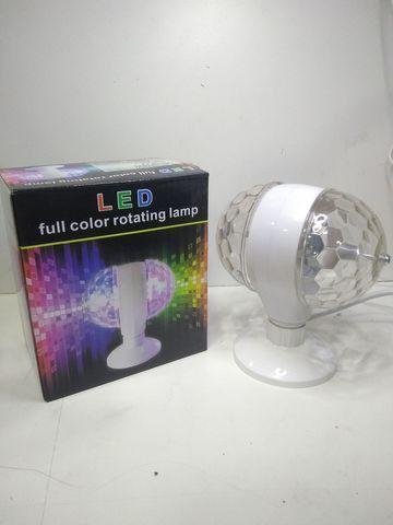 Lâmpada Led Giratória RGB Colorido Festa Bola Maluca Bivolt - Foto 4