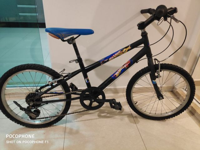 Bicicleta Caloi Hot wheels aro 20 - Foto 4