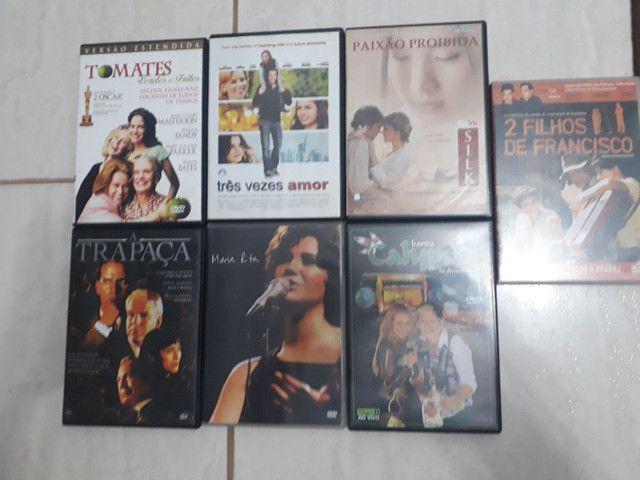 DVDs filmes e música  (itapetininga)