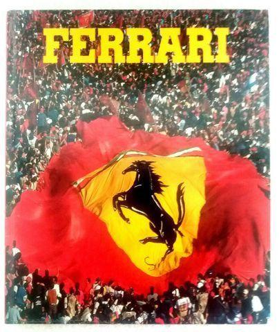 Ferrari (Livro 1998) + bandeiras - para colecionador e amante da marca