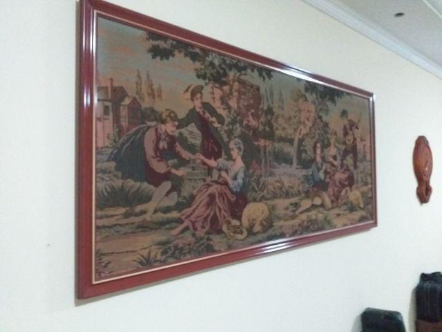 Quadro em tapeçaria GOBELIN - Foto 6