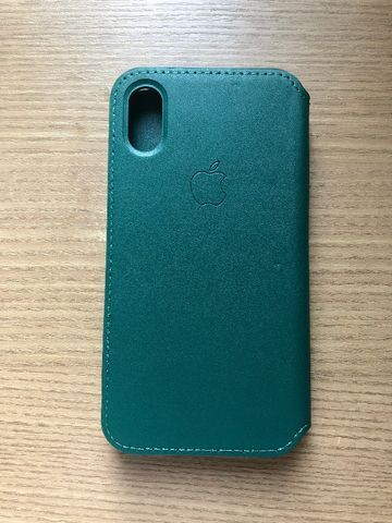 Capa iPhone X/XS Leather Folio - Foto 4