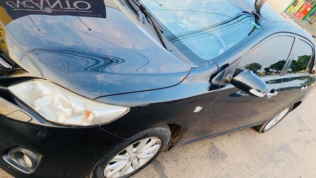 Corolla 2011/2012 cor preto perolizado - Foto 2