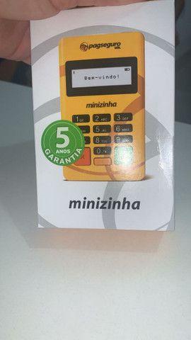 Máquina de Cartão Minizinha Pag Seguro