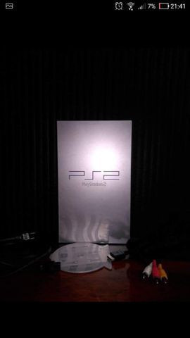 Playstation 2 Fat prata europeu (PAL). Play 2 Original bloqueado!