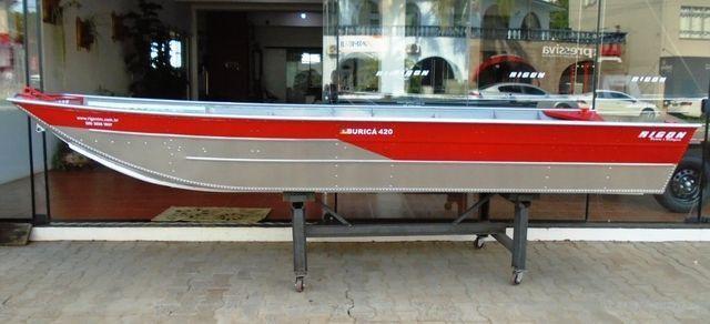 Barco de Alumínio Buricá 420 NOVO - 2020