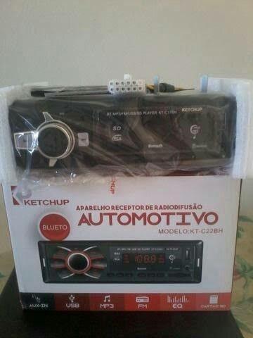 Rádio Automotivo Pen Drive Cartão De Memória E Recebe Chamada - Foto 2
