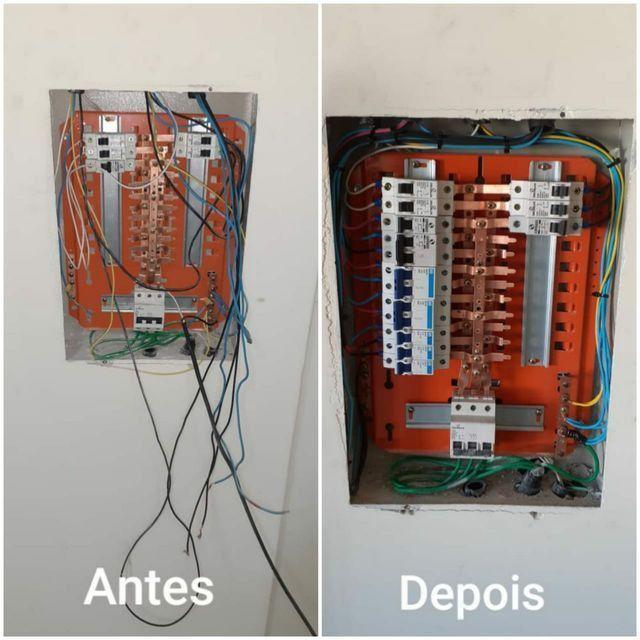 Eletricista Residencial/Padrão copel com CNPJ em Curitiba. - Foto 2