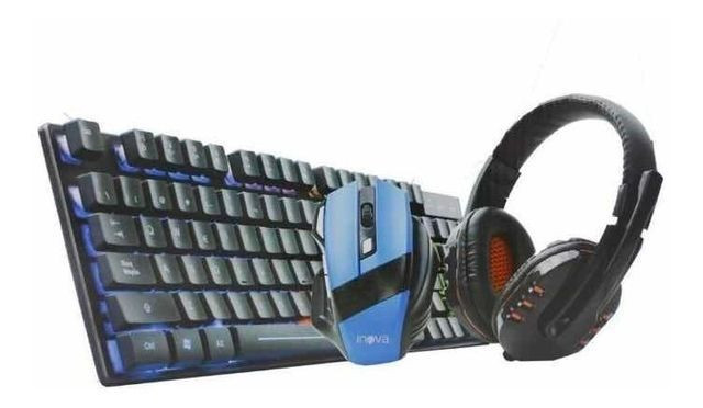 Kit Gamer - Teclado, Mouse e Fone Gamer - Foto 3