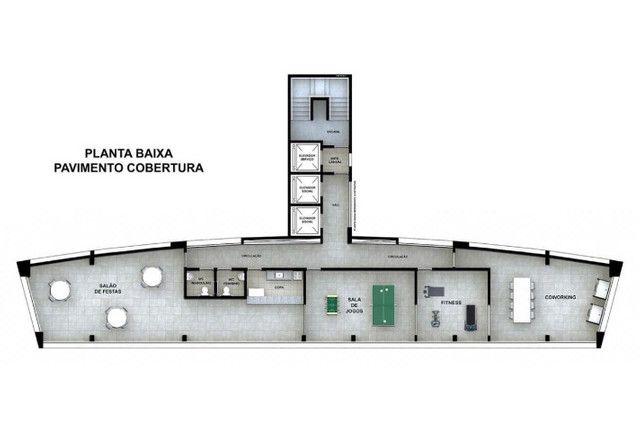 Apartamento na planta 3 quartos 67m 1 suite na ilha do retiro nascente lazer completo - Foto 11