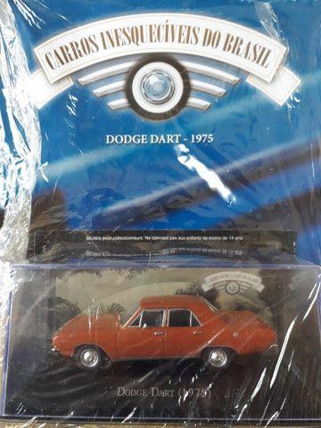 Miniatura Dodge Dart 1975 - Escala 1 /43 com fascículo (lacrada)