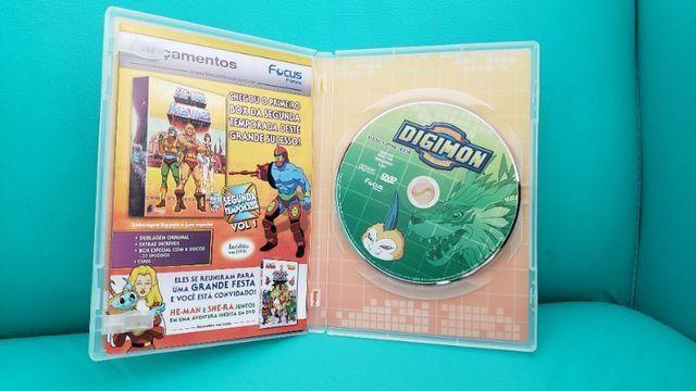 Box De Dvds Digimon Volume 1. Usado. Em Perfeito Estado! - Foto 5