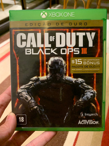 Jogo Call of Duty Black Ops III