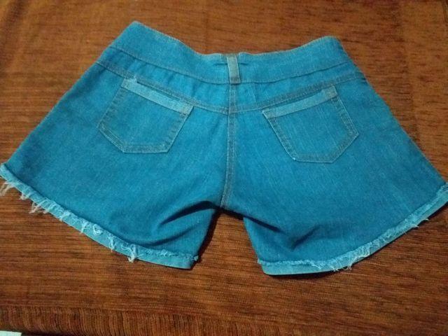 Short jeans Tam 38 - Foto 2