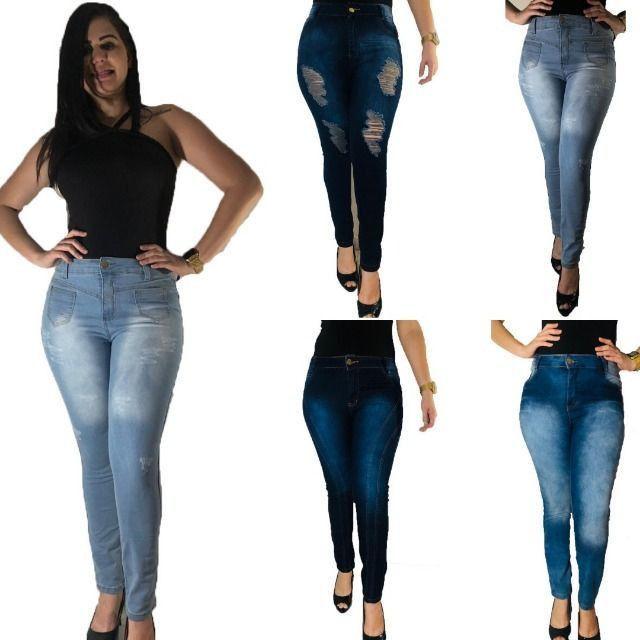 Kit 5 calças Jeans femininas- Para revenda