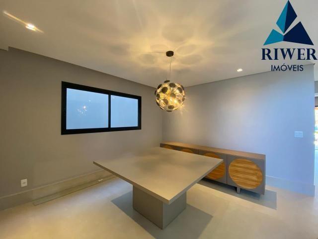 Luxo! Casa perfeita e mobiliada em Vicente Pires! 4 suites, revestimentos e materiais de p - Foto 5