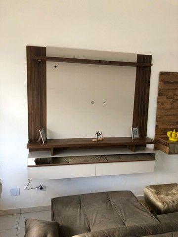 Painel tv com led e espelho  - Foto 2