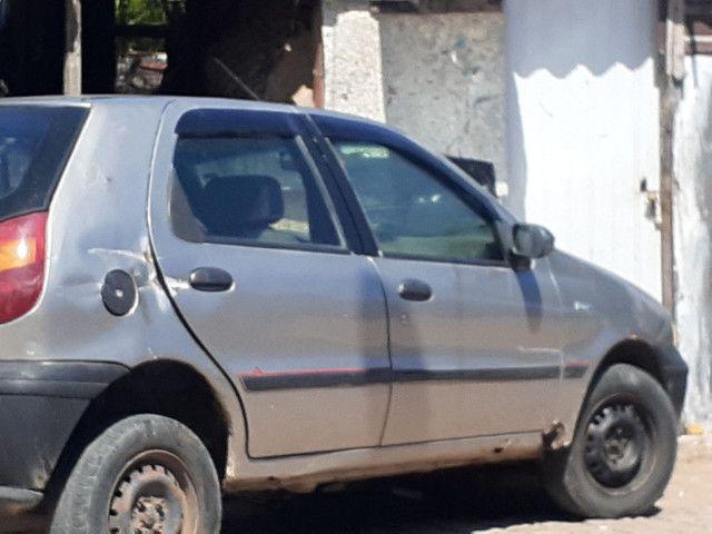 Fiat palio 98 com documento e recibo 5.000 valor negociável  - Foto 5