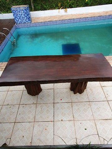 Mesa de madeira  - Foto 4