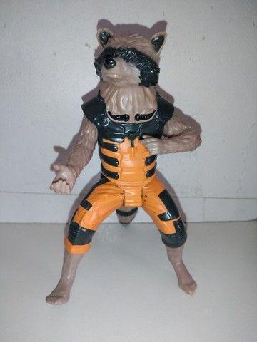 Boneco Rocket Raccon Guardiões da Galáxia Hasbro - Foto 3