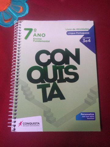 Livros Conquista 7° ano  - Foto 4