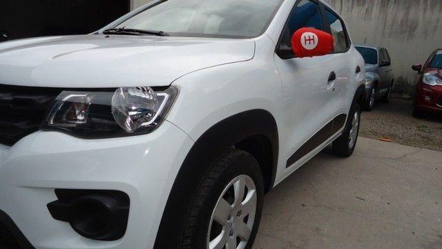 Renault Kwid Zen 2018 Segundo Dono Com Todas Revisões Feitas - Foto 9