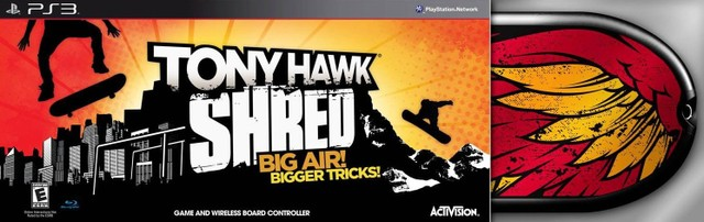 Tony Hawk: Shred (Skate Bundle) - PS3