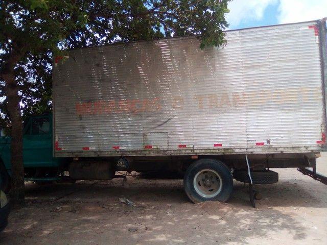 Vendo ou troco  Caminhão FORD F7000 - Foto 5