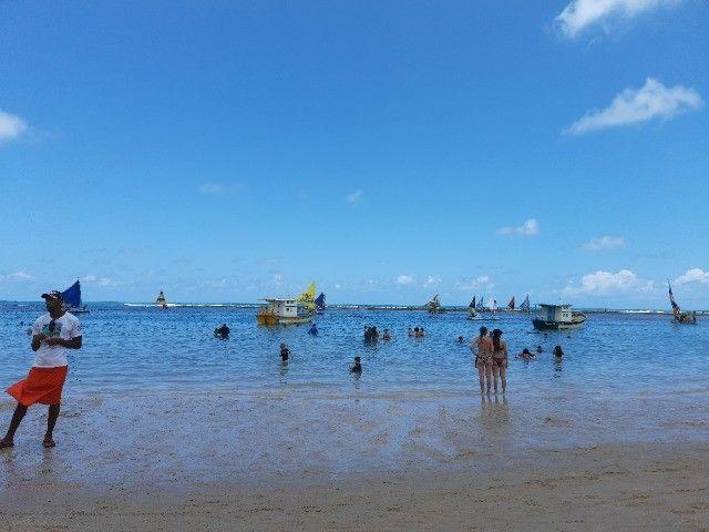 Flat na praia para temporada, quarto e sala, em Jaboatão, região Metropolitana de Recife - Foto 18