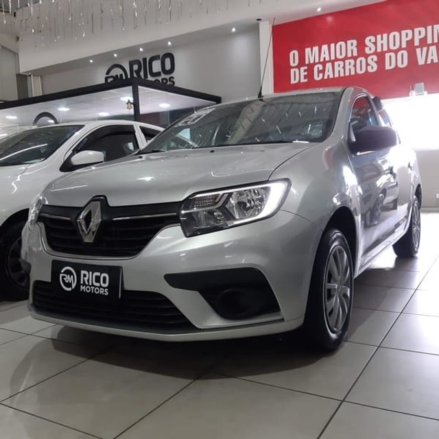 Renault Logan Life 1.0 2020 Flex