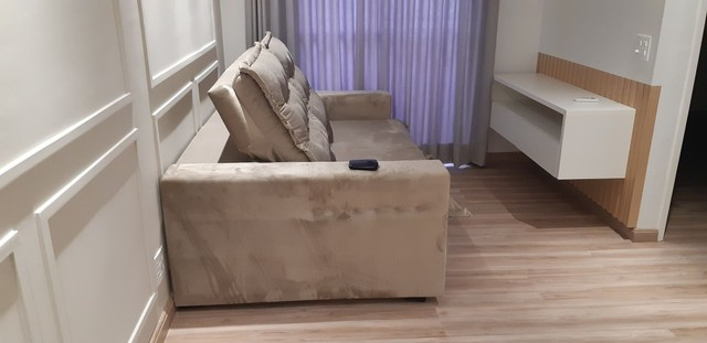 Sofá retrátil e reclinável novo sem uso - Foto 5