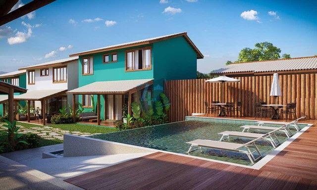 Casa Duplex com 3 dormitórios à venda, 145 m² por R$ 900.000 - Praia de Pitinga - Porto Se