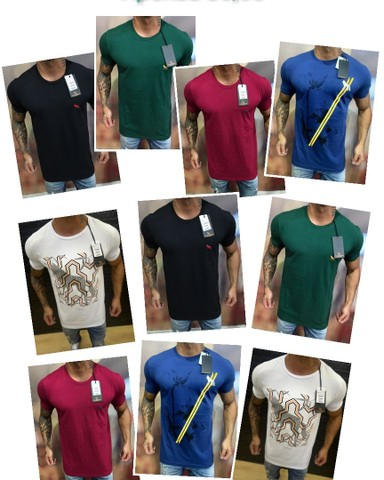 Camisetas Masculinas Nacionais Atacado - Foto 3